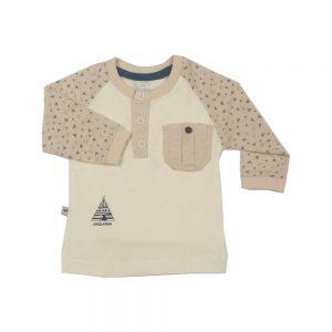 بلوز آستین بلند نوزادی پوشیران طرح تیپی