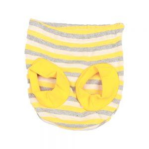 شورت عینکی نوزادی آدمک طرح زنبور