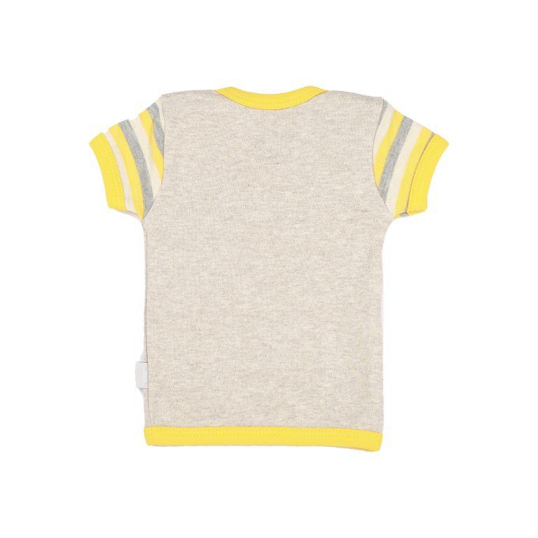تی شرت آستین کوتاه نوزادی آدمک طرح زنبور