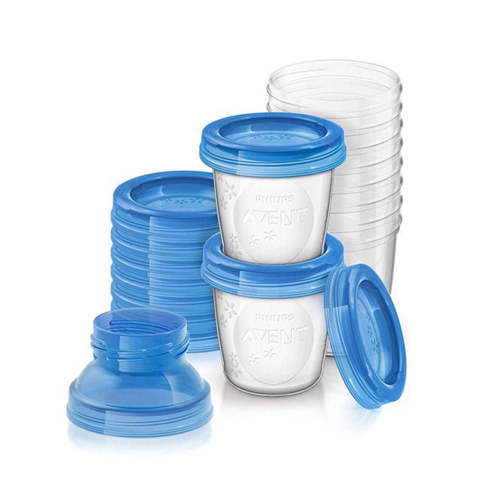 ست ظرف ذخیره شیر و غذای کودک فیلیپس اونت بسته ده عددی
