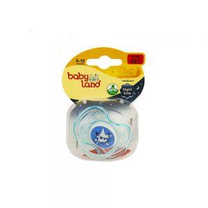 پستانک ارتودنسی بیبی لند Baby Land آبی
