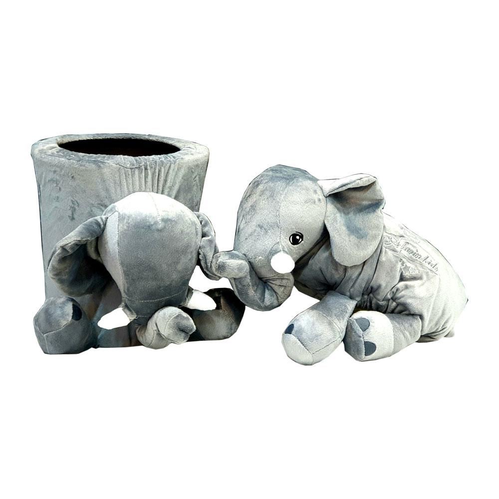 ست سطل و جا دستمال کاغذی اتاق کودک تولون TOLON طرح فیلی