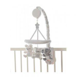 آویز تخت موزیکال فیل و خرگوش پلی گرو Playgro
