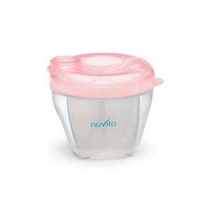 ظرف ذخیره شیر و غذا نوویتا Nuvita صورتی روشن