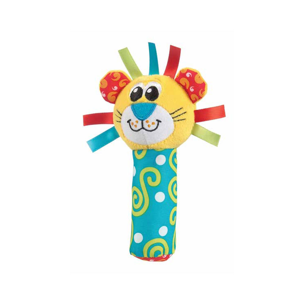 عروسک سوسیسی پلی گرو Playgro طرح شیر