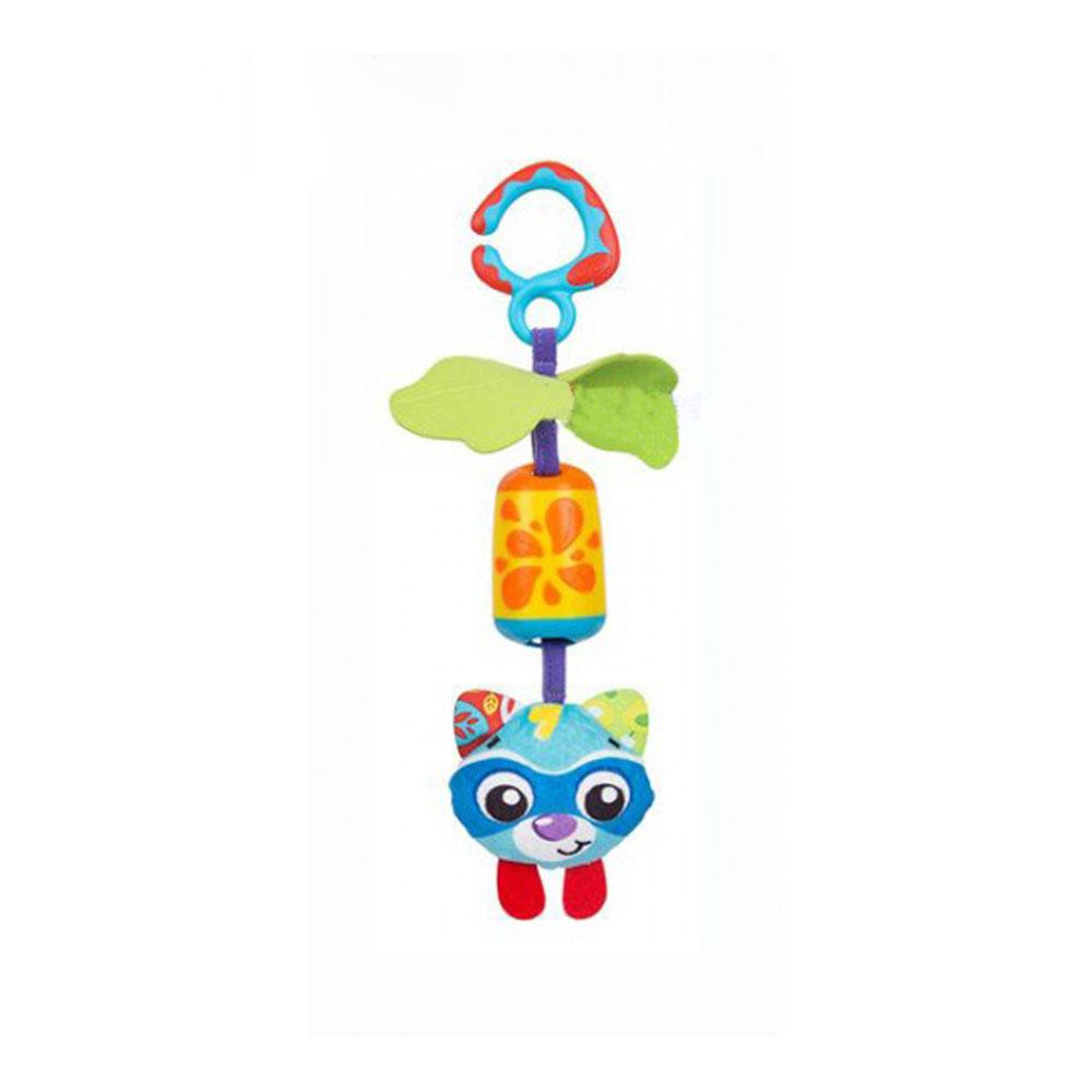 عروسک گیره دار گربه پلی گرو Playgro آبی