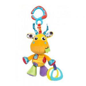 عروسک گیره دار جغجغهای زرافه پلی گرو Playgro