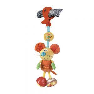 عروسک گیره دار جغجغهای موش پلی گرو Playgro