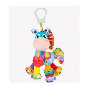 عروسک 10 اینچی آویزدار اسب شاخ دار پلی گرو Playgro آبی