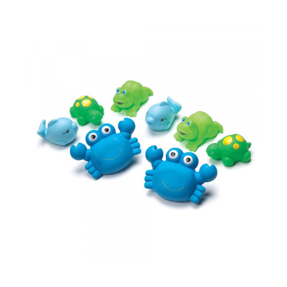 پوپت حيوانات دریایی پلی گرو Playgro بسته 8 عددی