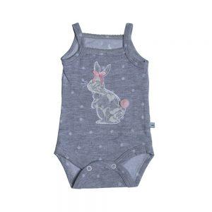 زیردکمه بندی نوزادی پوشیران طرح خرگوش بامبی