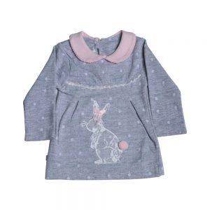بلوز آستین بلند نوزادی پوشیران طرح خرگوش بامبی