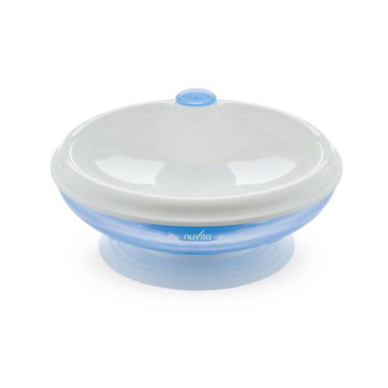 ظرف گرم نگهدارنده غذا استپ دار نوویتا Nuvita آبی