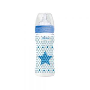 شیشه شیر چیکو Chicco مدل well-being ظرفیت 250 میلی لیتر