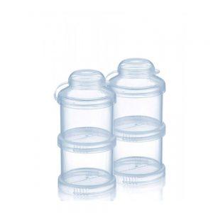 ظرف ذخیره شیر خشک و غذا 4 عددی بی بی سیل Babisil