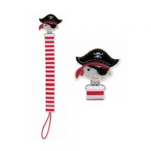 بند پستانک عروسکی طرح دزد دریایی نابی NUBY