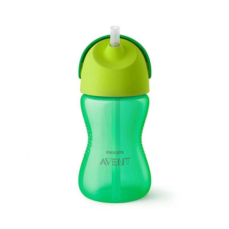 لیوان آبمیوه خوری نی دار فیلیپس اونت Philips Avent سبز