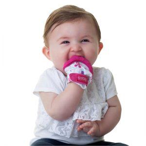 دندانگیر دستکشی +3 ماه نابی NUBY