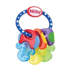 دندانگیر ژله ای 3+ ماه طرح دسته کلید نابی NUBY مدل Icy Bite