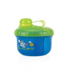 ظرف ذخیره شیر و غذا طرح راسو نابی NUBY آبی
