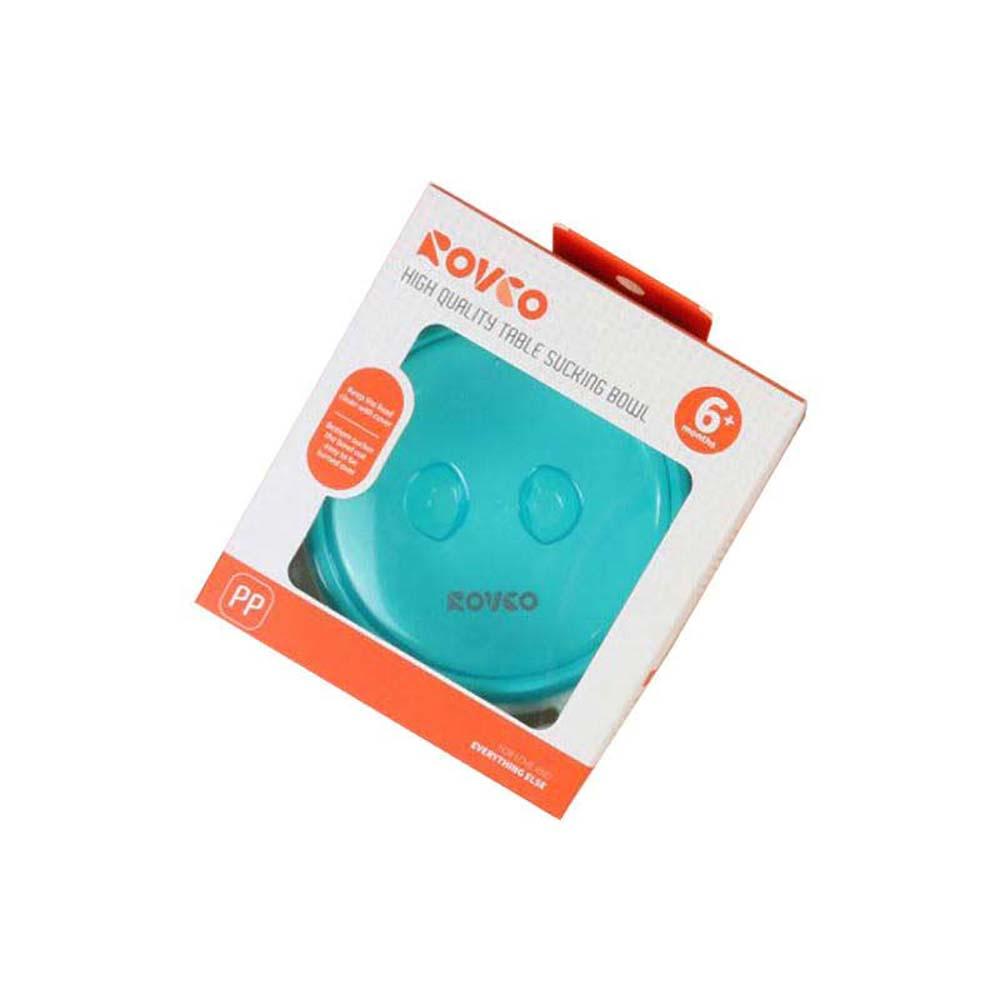 ظرف غذای کودک رووکو Rovco سبز آبی