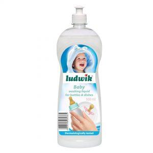 مایع استریل کننده ظروف کودک لودویک ludwik ظرفیت 500 میلی لیتر