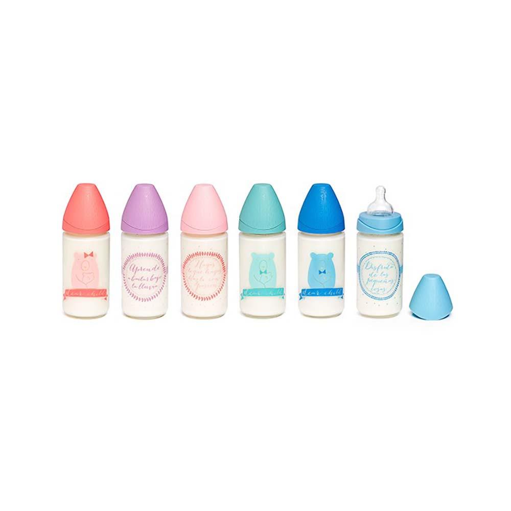 شیشه شیر پیرکس 240 میلی لیتر سواوینکس Suavinex