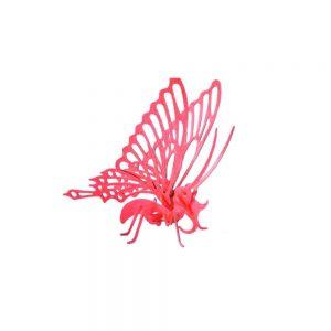 پازل سه بعدی طرح پروانه