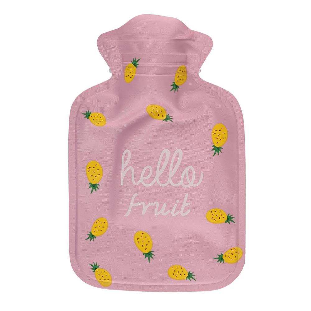 کیسه آب گرم صورتی طرح آناناس