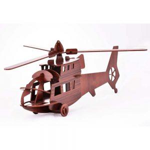 پازل سه بعدی آبان Aban طرح هلیکوپتر