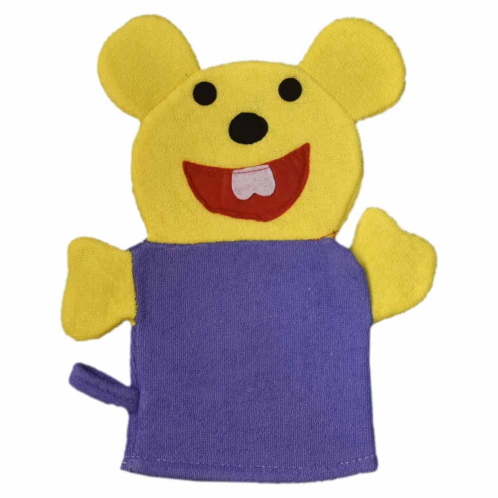لیف حمام کودک طرح موش زرد