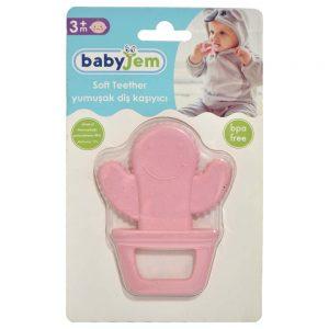 دندان گیر کودک بی بی جم babyjem طرح کاکتوس