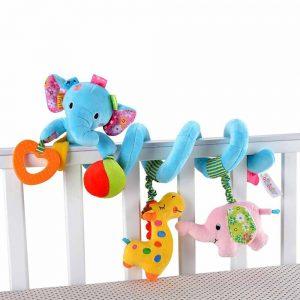 آویز تخت مارپیچ فیل جولی بیبی JOLLY BABY