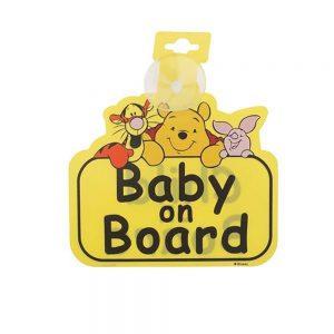 استیکر کودک بیبی آن بورد طرح دیزنی مادرکر Mothercare