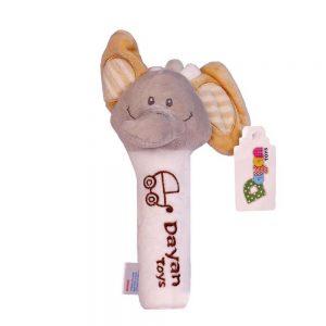 جغجغه سوسیسی دایان تویز Dayan Toys طرح فیل