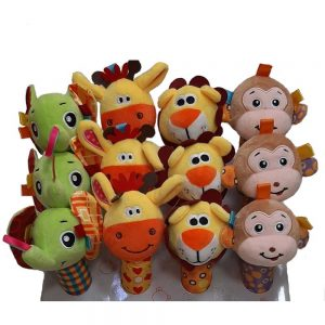 جغجغه سوسیسی دایان تویز Dayan Toys طرح حیوانات