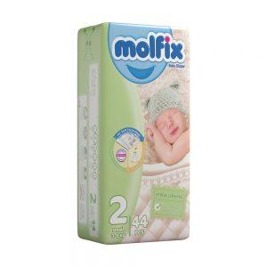 پوشک مولفیکس Molfix سايز 2 بسته 44 عددی